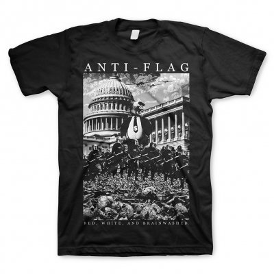ANTI-FLAG, capital (boy) black cover