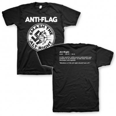 ANTI-FLAG, smash the alt right (boy) black cover
