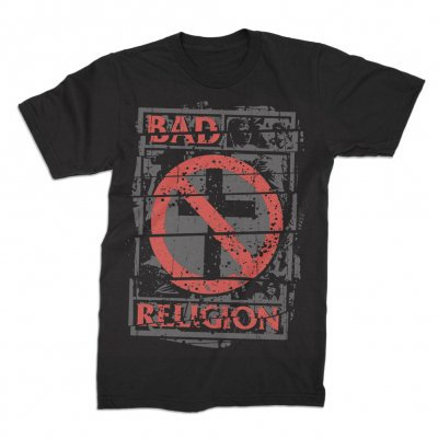 Cover BAD RELIGION, unrest (boy) black