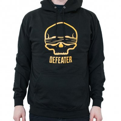 DEFEATER, blind skull (boy) black hoodie cover