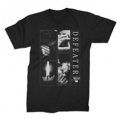 Cover DEFEATER, collage (boy) black