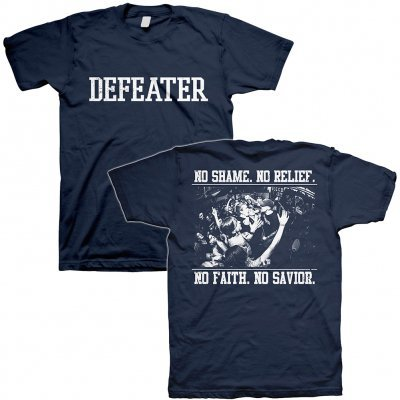 Cover DEFEATER, no shame (boy) navy