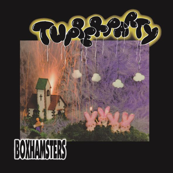BOXHAMSTERS, tupperparty cover