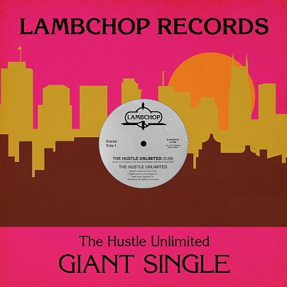 LAMBCHOP, hustle unlimited cover