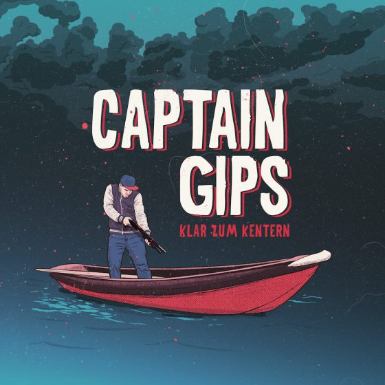 CAPTAIN GIPS, klar zum kentern cover