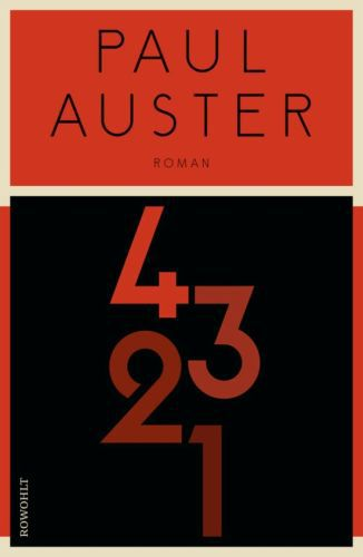 PAUL AUSTER, 4321 cover