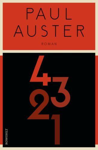 PAUL AUSTER, 4321 cover