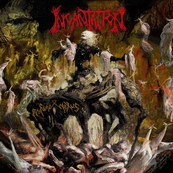 INCANTATION, profane nexus cover