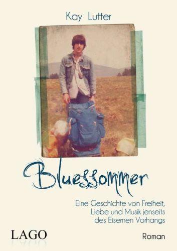 KAY LUTTER, bluessommer cover