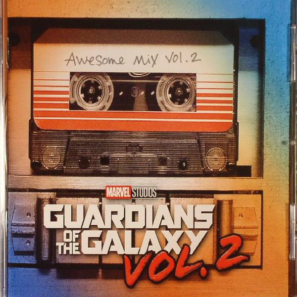 Cover O.S.T., guardians of the galaxy: awesome mix vol. 2