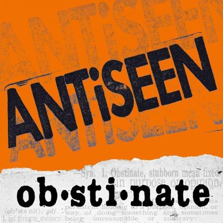 ANTISEEN, obstinate cover