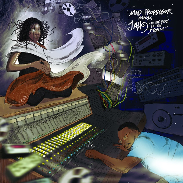 MAD PROFESSOR MEETS JAH9, in the midst of the storm cover