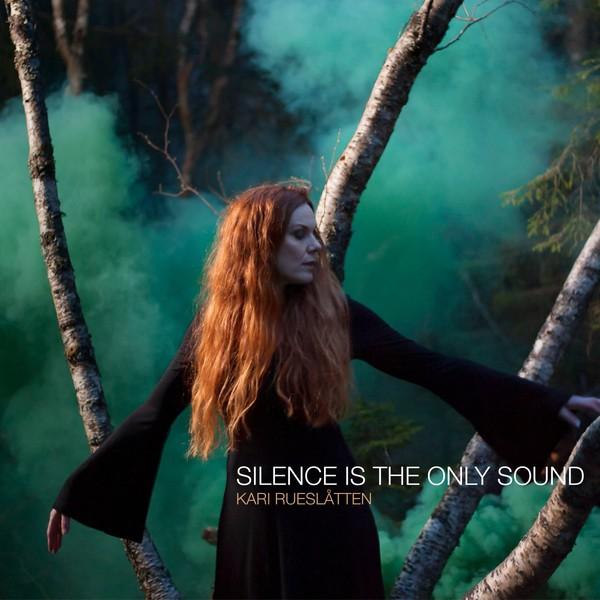 KARI RUESLATTEN, silence is the new sound cover