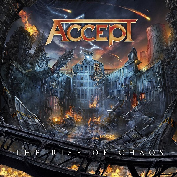 Cover ACCEPT, the rise of chaos