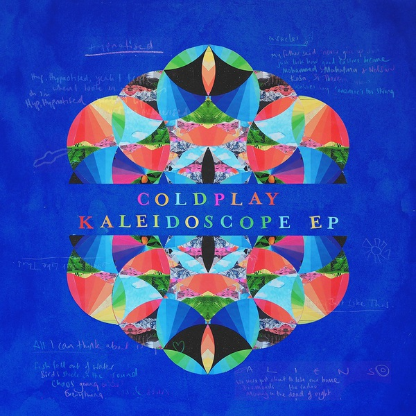 Cover COLDPLAY, kaleidoscope ep