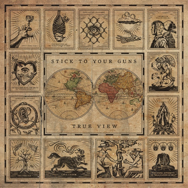 Cover STICK TO YOUR GUNS, true view