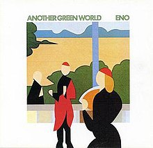 BRIAN ENO, another green world cover