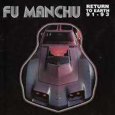 FU MANCHU, return to earth cover