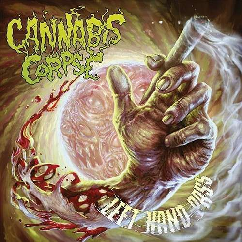 CANNABIS CORPSE, left hand pass cover