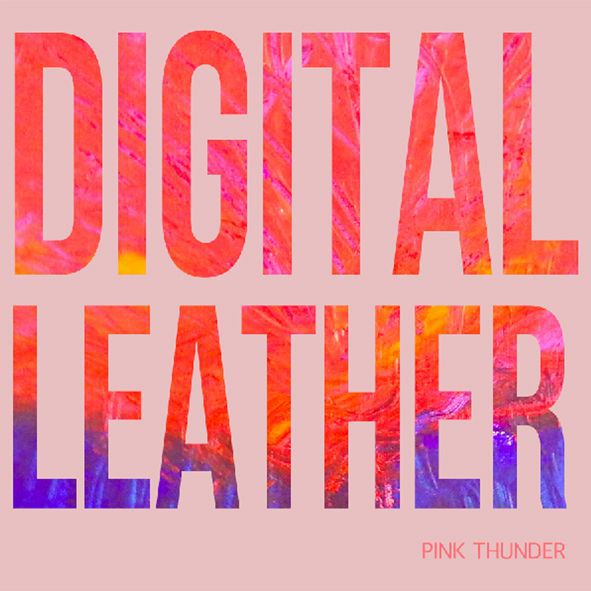 Cover DIGITAL LEATHER, pink thunder