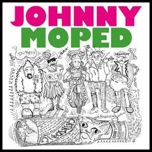 Cover JOHNNY MOPED, catatonic