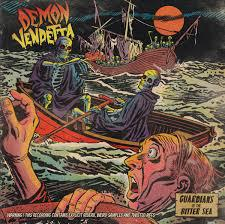 Cover DEMON VENDETTA, guardians of the bitter sea