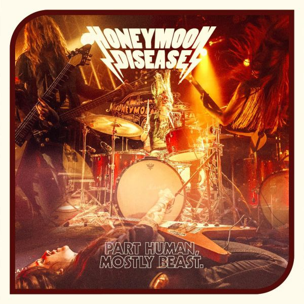 HONEYMOON DISEASE, part human, mostly beast cover