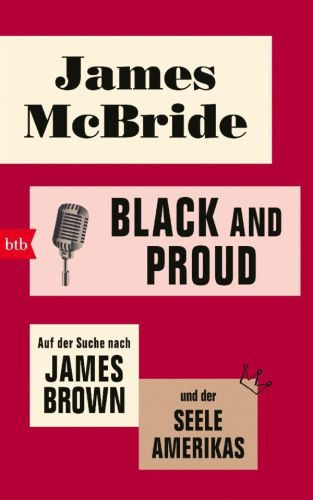 Cover JAMES MCBRIDE, black and proud