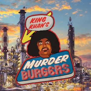 KING KHAN & THE GRIS GRIS, murderburgers cover
