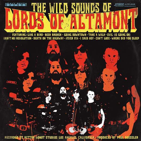 Cover LORDS OF ALTAMONT, the wild sounds of the lords of altamont