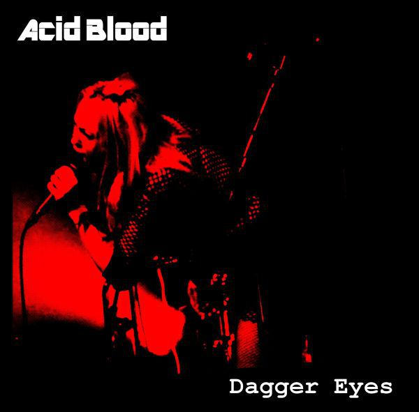 ACID BLOOD, dagger eyes cover