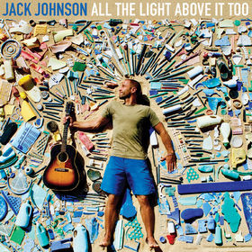 Cover JACK JOHNSON, all the light above it too