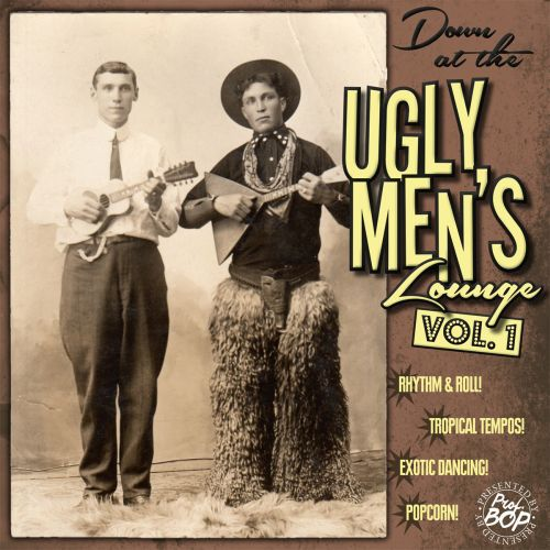 Cover V/A, down at the ugly men`s lounge vol. 01