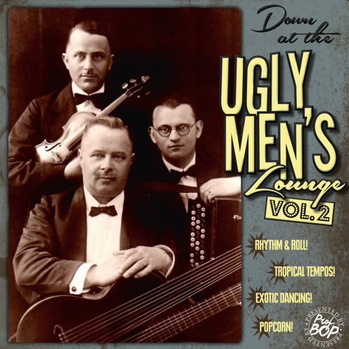 Cover V/A, down at the ugly men´s lounge vol. 02