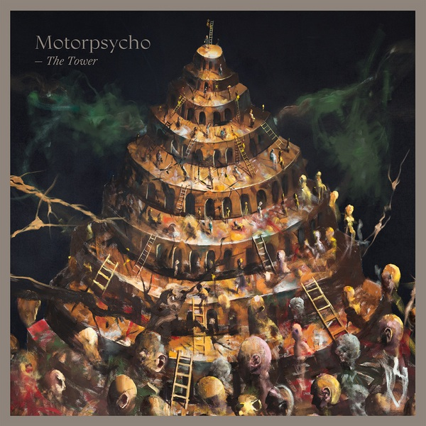 Cover MOTORPSYCHO, the tower