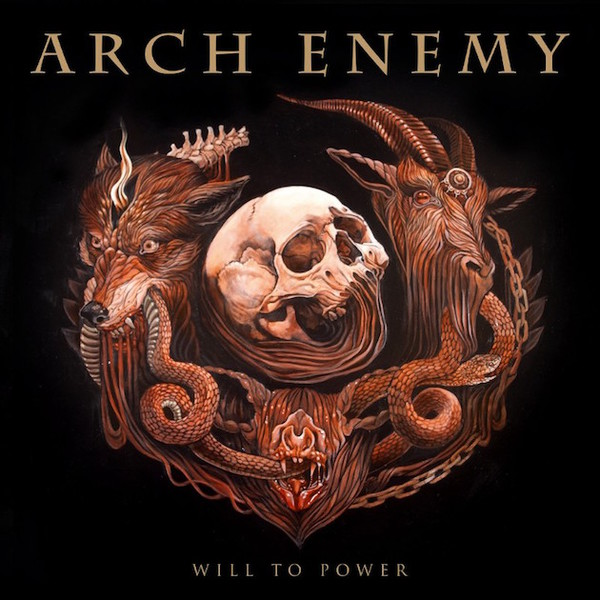 ARCH ENEMY, will to power cover