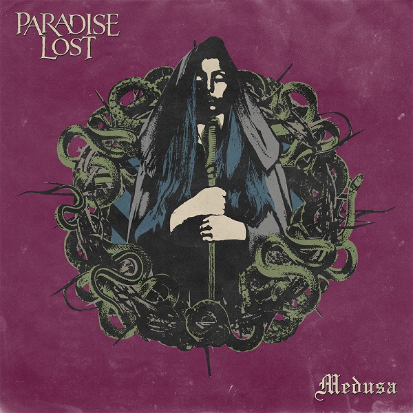 Cover PARADISE LOST, medusa