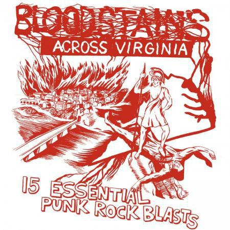 Cover V/A, bloodstains across virginia