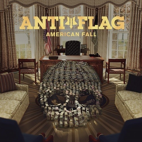 ANTI-FLAG, american fall cover