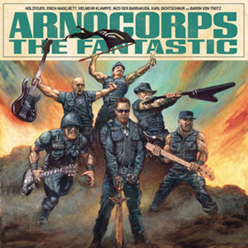 Cover ARNOCORPS, the fantastic
