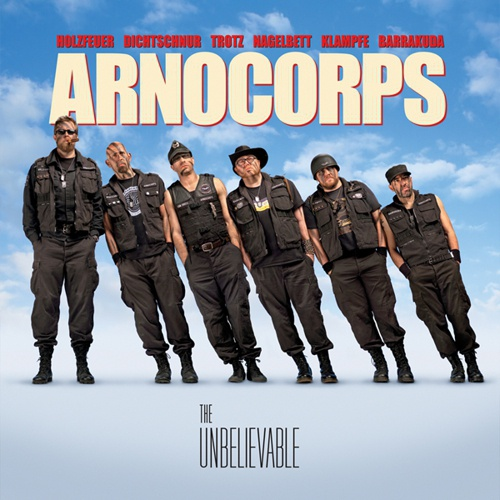ARNOCORPS, the unbelievable cover