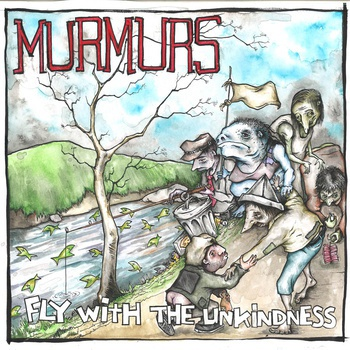 MURMURS, fly with the unkindness cover