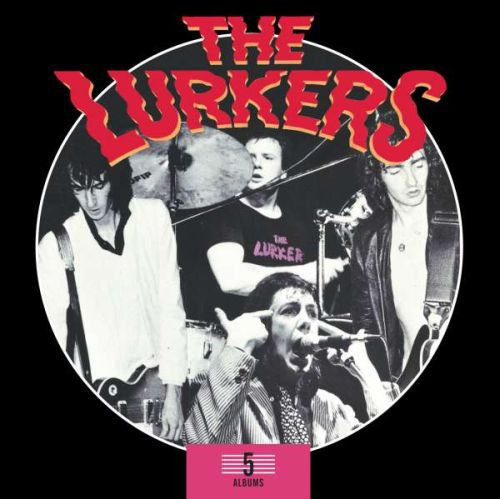 LURKERS, 5 album box set cover