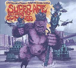 Cover LEE SCRATCH PERRY/SUBATOMIC SOUND SYSTEM, super ape returns to conquer