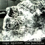 RAGE AGAINST THE MACHINE, s/t cover