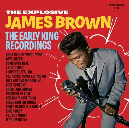 Cover JAMES BROWN, explosive james brown
