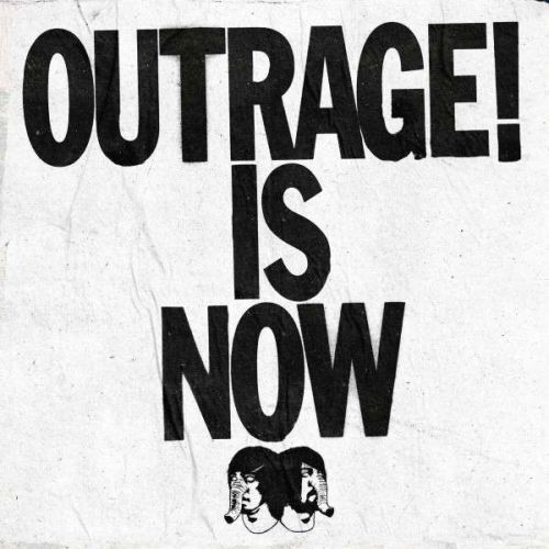 Cover DEATH FROM ABOVE 1979, outrage! is now