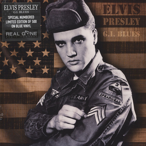 Cover ELVIS PRESLEY, g.i. blues