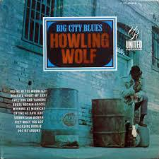 Cover HOWLIN´ WOLF, big city blues