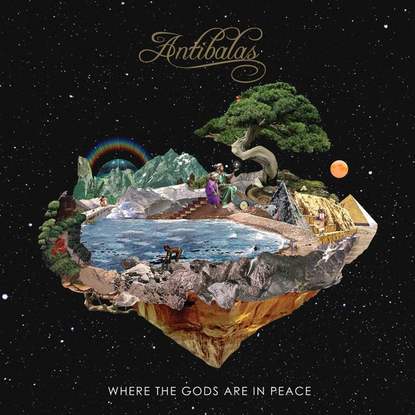 Cover ANTIBALAS, where the gods are in peace